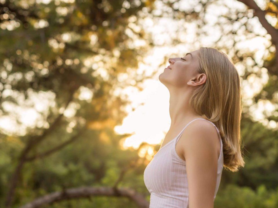 Seduta sul respiro. Meditazione