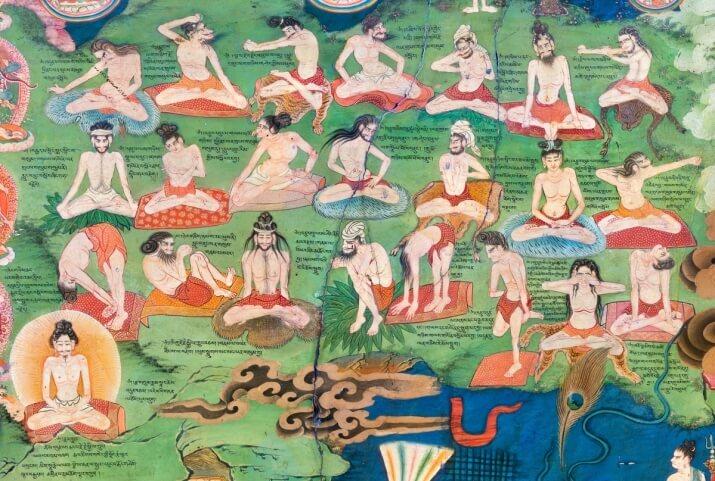 Corso di Pratiche contemplative e Yantra Yoga, Yoga tibetano del movimento.